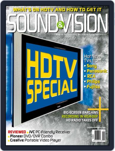 Sound & Vision (Digital) October 12th, 2005 Issue Cover