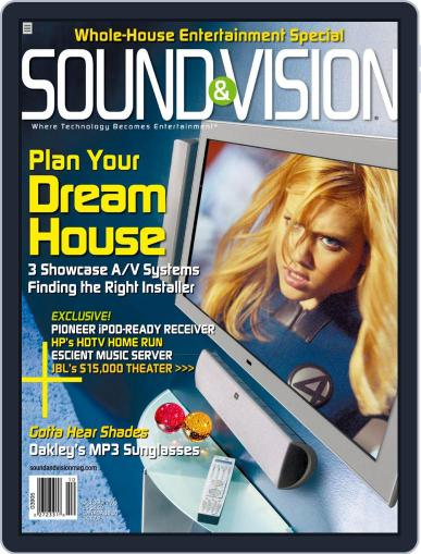 Sound & Vision (Digital) September 6th, 2005 Issue Cover
