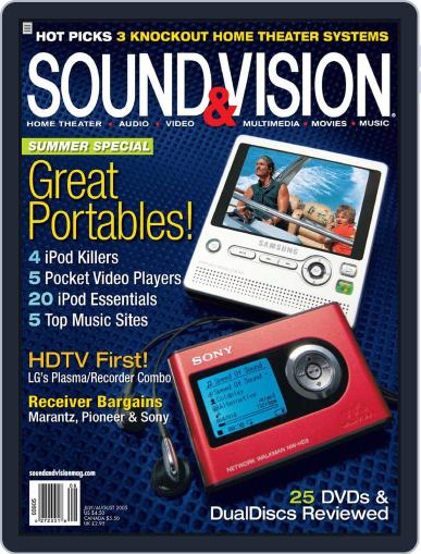 Sound & Vision (Digital) June 21st, 2005 Issue Cover