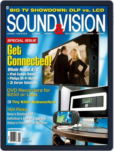 Sound & Vision (Digital) May 10th, 2005 Issue Cover