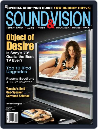 Sound & Vision (Digital) April 5th, 2005 Issue Cover