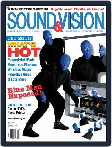 Sound & Vision March 8th, 2005 Digital Back Issue Cover