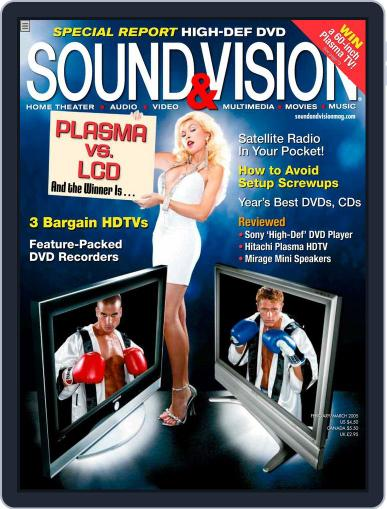 Sound & Vision March 1st, 2005 Digital Back Issue Cover