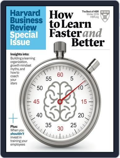 Harvard Business Review Special Issues October 29th, 2019 Digital Back Issue Cover