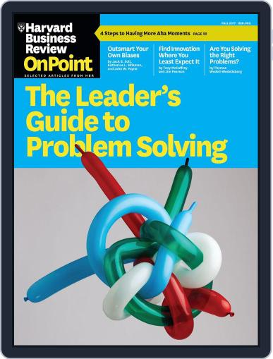 Harvard Business Review Special Issues (Digital) July 24th, 2017 Issue Cover