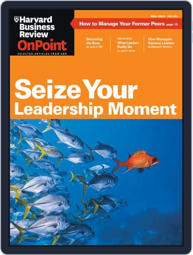 Harvard Business Review Special Issues (Digital) August 7th, 2014 Issue Cover