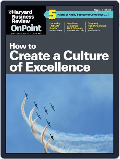 Harvard Business Review Special Issues (Digital) August 15th, 2013 Issue Cover