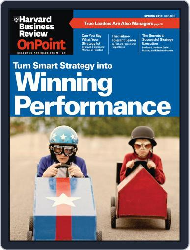 Harvard Business Review Special Issues February 21st, 2013 Digital Back Issue Cover