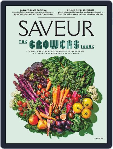 Saveur (Digital) April 24th, 2019 Issue Cover