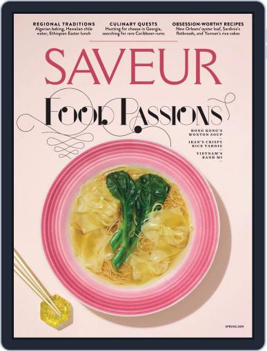 Saveur (Digital) February 20th, 2019 Issue Cover