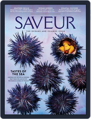 Saveur May 11th, 2018 Digital Back Issue Cover