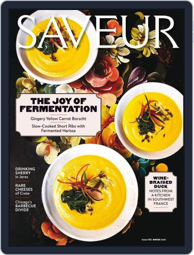 Saveur February 1st, 2018 Digital Back Issue Cover