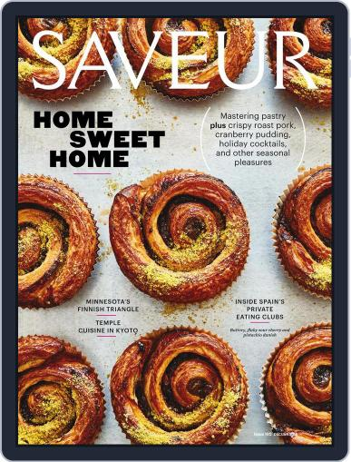 Saveur (Digital) December 1st, 2017 Issue Cover