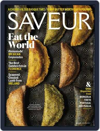 Saveur April 1st, 2017 Digital Back Issue Cover