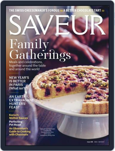 Saveur December 1st, 2016 Digital Back Issue Cover