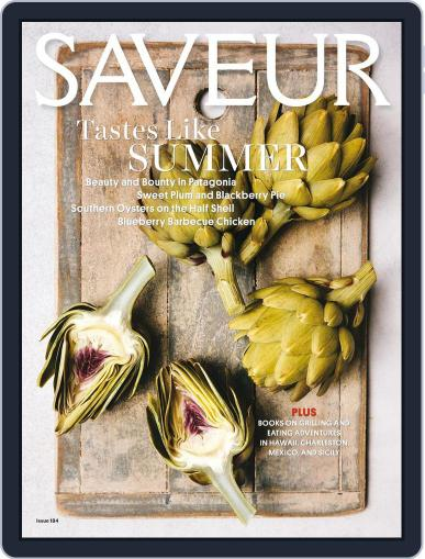Saveur (Digital) June 1st, 2016 Issue Cover