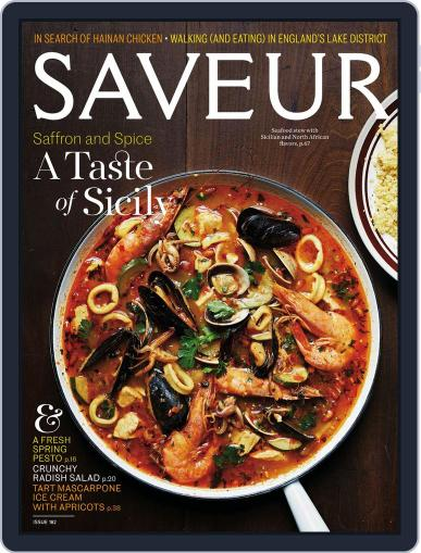 Saveur April 1st, 2016 Digital Back Issue Cover