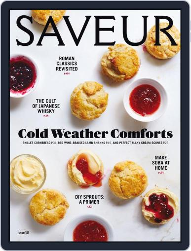 Saveur (Digital) March 1st, 2016 Issue Cover