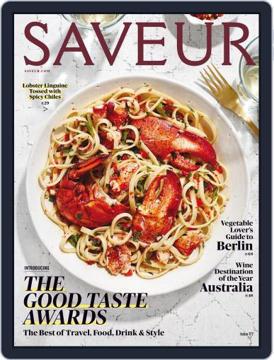 Saveur (Digital) October 1st, 2015 Issue Cover