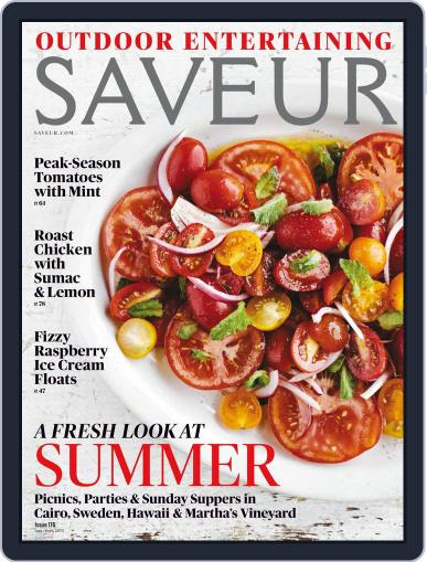 Saveur (Digital) August 1st, 2015 Issue Cover
