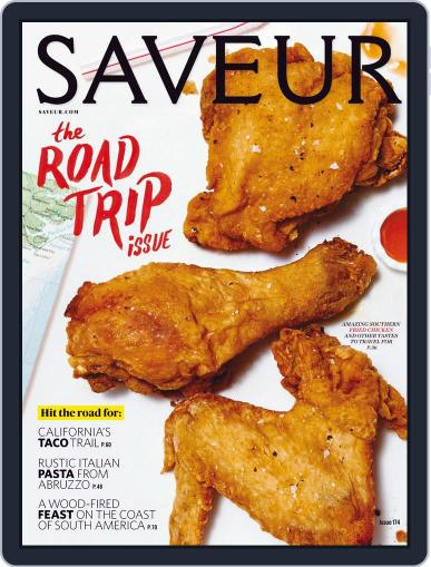 Saveur (Digital) May 1st, 2015 Issue Cover