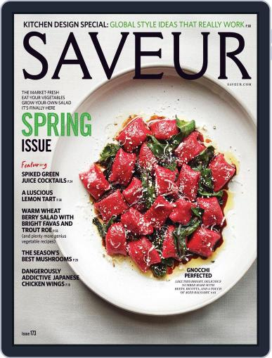 Saveur (Digital) April 1st, 2015 Issue Cover