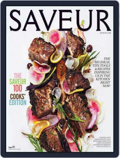 Saveur (Digital) December 13th, 2014 Issue Cover