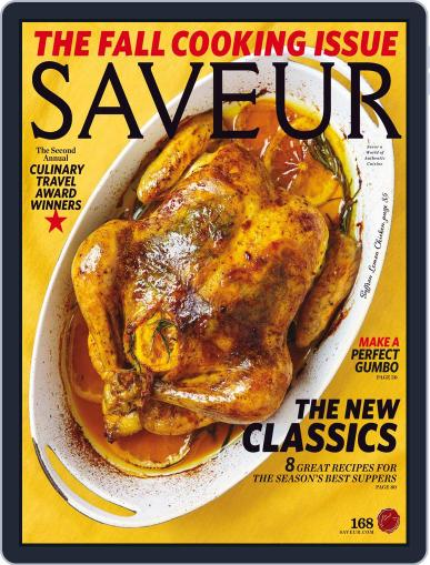 Saveur October 1st, 2014 Digital Back Issue Cover