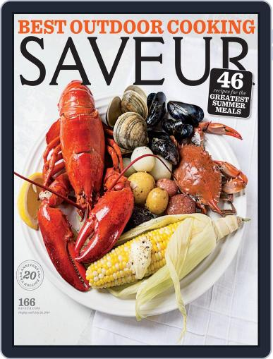 Saveur (Digital) June 1st, 2014 Issue Cover