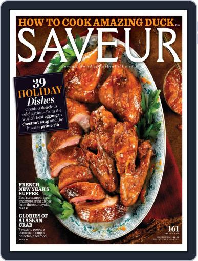 Saveur (Digital) December 1st, 2013 Issue Cover