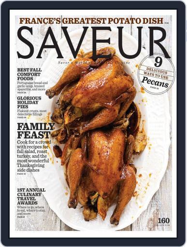 Saveur (Digital) November 1st, 2013 Issue Cover