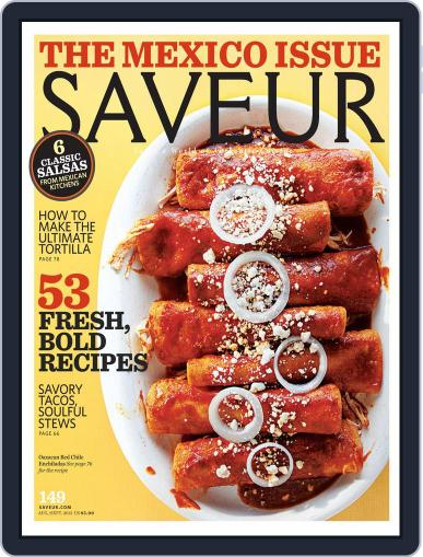 Saveur (Digital) July 21st, 2012 Issue Cover