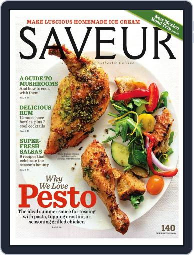 Saveur (Digital) July 16th, 2011 Issue Cover