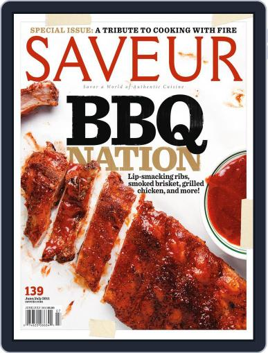 Saveur May 25th, 2011 Digital Back Issue Cover