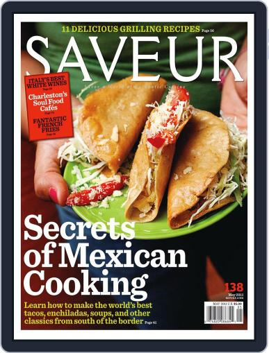 Saveur (Digital) April 16th, 2011 Issue Cover