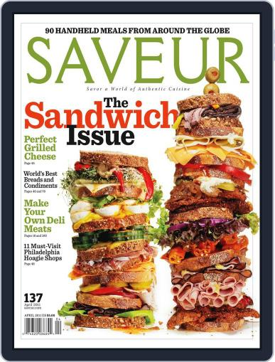 Saveur (Digital) March 19th, 2011 Issue Cover