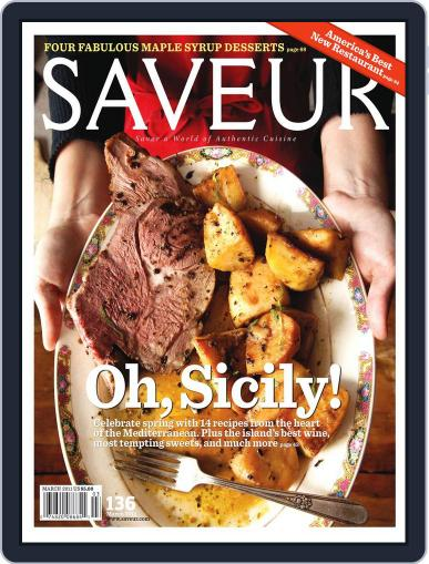Saveur (Digital) February 12th, 2011 Issue Cover