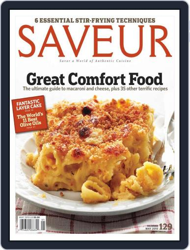 Saveur (Digital) April 14th, 2010 Issue Cover