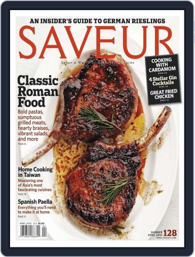 Saveur (Digital) March 13th, 2010 Issue Cover