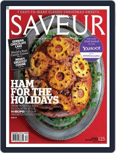 Saveur (Digital) November 14th, 2009 Issue Cover