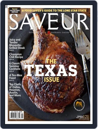 Saveur (Digital) May 30th, 2009 Issue Cover