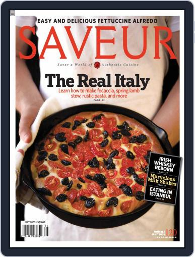 Saveur April 18th, 2009 Digital Back Issue Cover