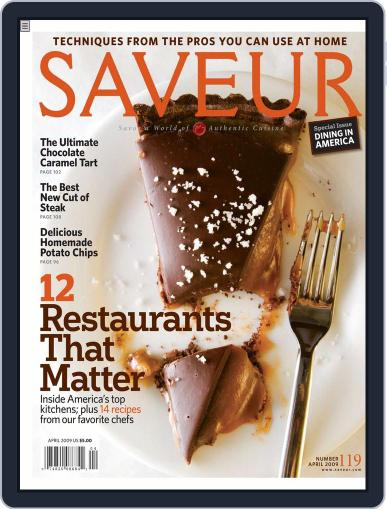 Saveur (Digital) March 14th, 2009 Issue Cover