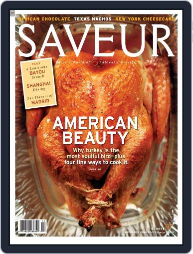 Saveur (Digital) October 14th, 2006 Issue Cover