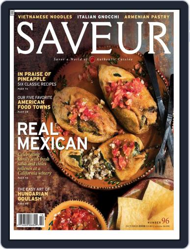 Saveur (Digital) September 5th, 2006 Issue Cover