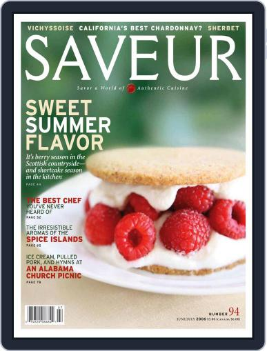 Saveur May 27th, 2006 Digital Back Issue Cover