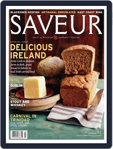 Saveur February 18th, 2006 Digital Back Issue Cover