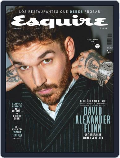 Esquire  México (Digital) February 1st, 2020 Issue Cover
