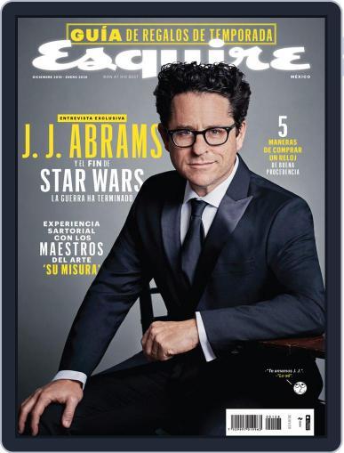 Esquire  México (Digital) December 1st, 2019 Issue Cover