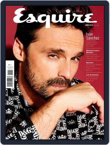 Esquire México May 1st, 2019 Digital Back Issue Cover